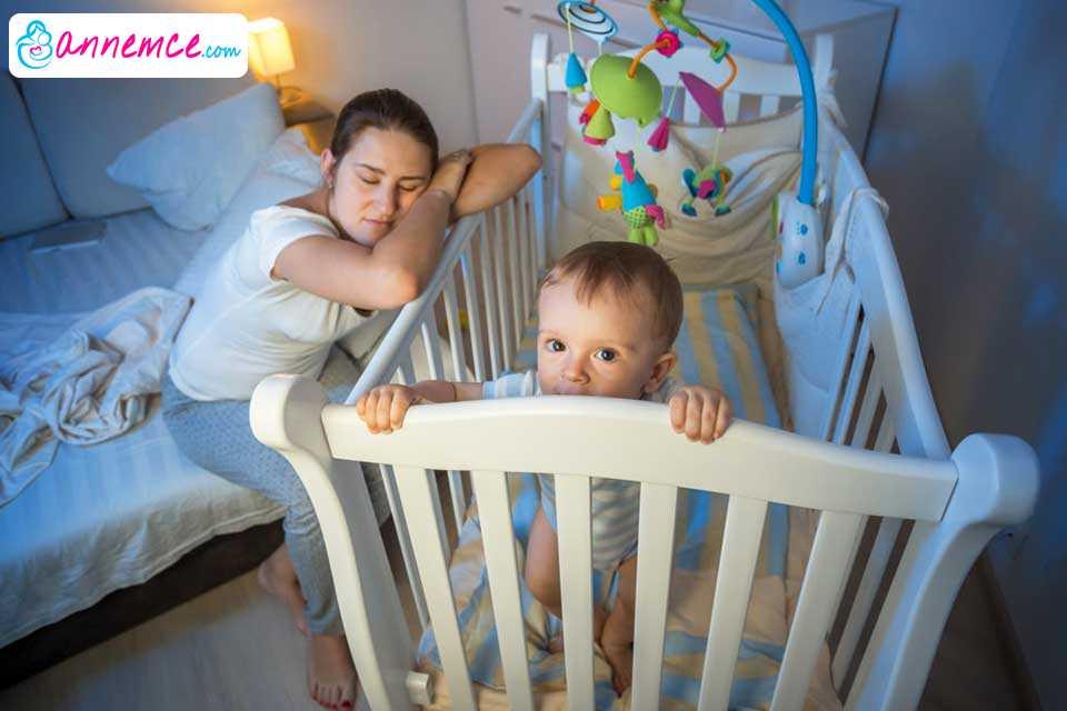 Bebeklerin Uyku Düzeni ve Annelerin Karşılaştığı Sorunlar