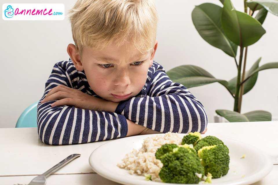 Çocuğunuz Sebze ve Meyve Sevmiyorsa Ne Yapmalıyız?