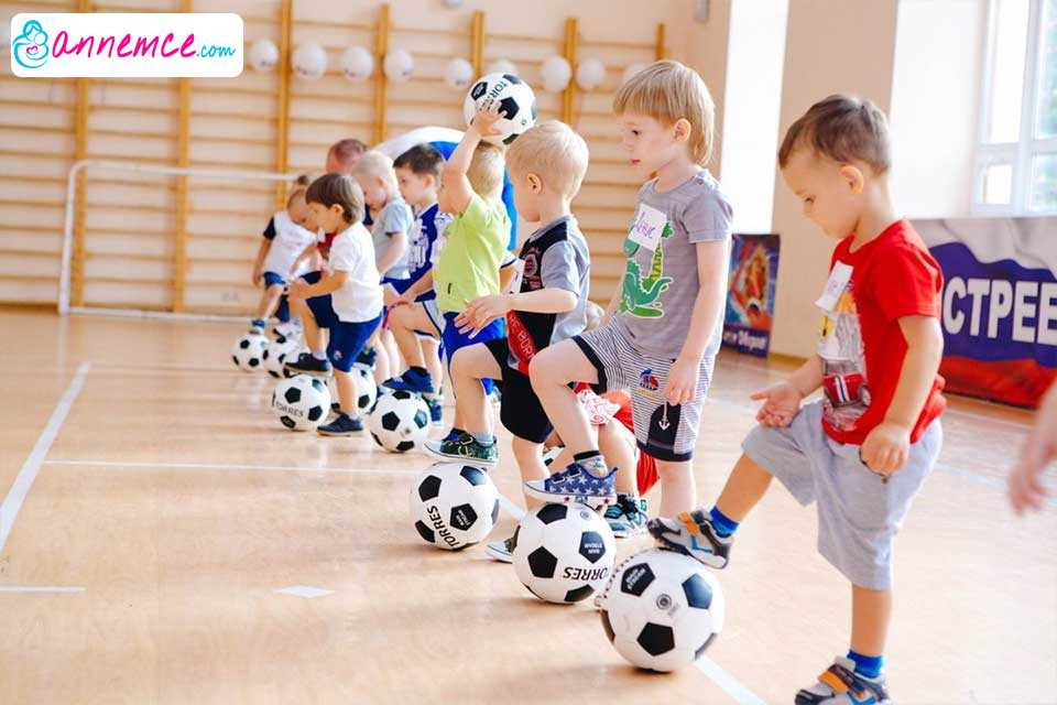 Çocuklarda Obeziteye Karşı Spor Şart