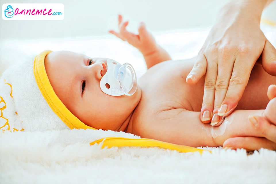 Yenidoğan Bebeğin Cilt Bakımı ve Bebek Masajı Nasıl Yapılır?
