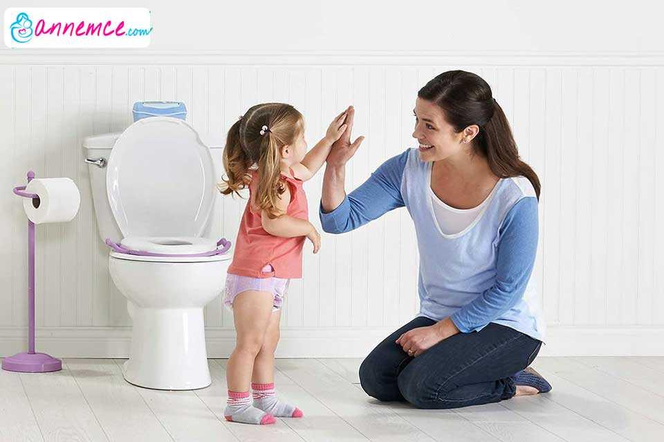 Çocuğu Tuvalete Alıştırmak ve Tuvalet Eğitimi
