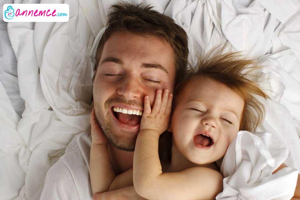 Babalar, çocuklarının hayatında önemli bir role sahip