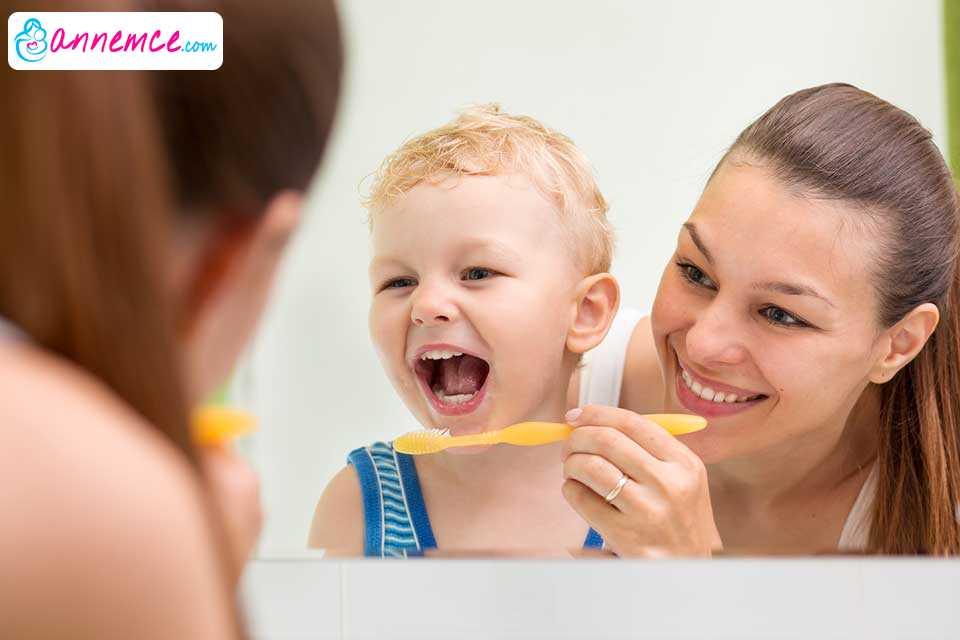 Bebek ve Çocukların Ağız, Diş Sağlığı Ve Hijyeni