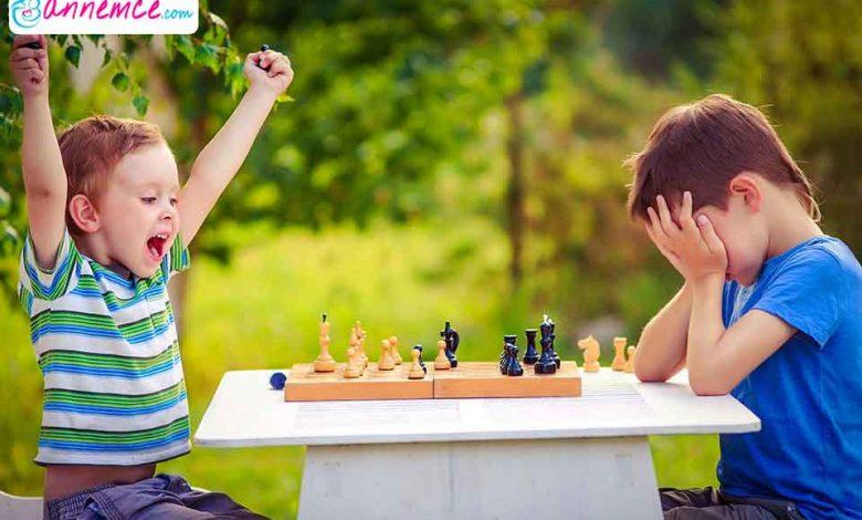 Çocuğa Oyunlarla, Kaybetme Duygusu Nasıl Öğretilir?