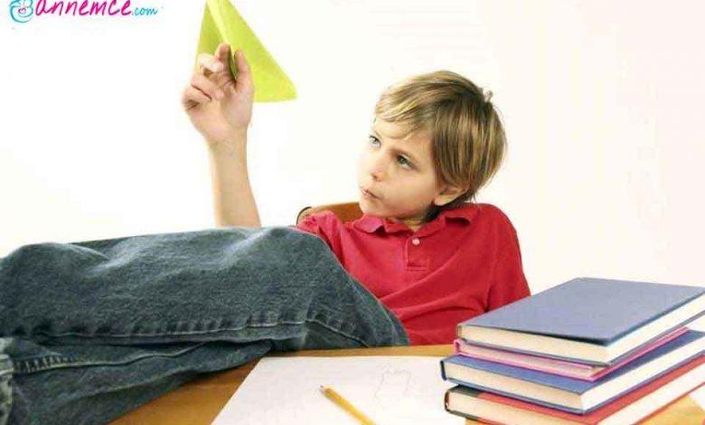 Çocuğun Dikkat Eksikliği Nasıl Giderilir?