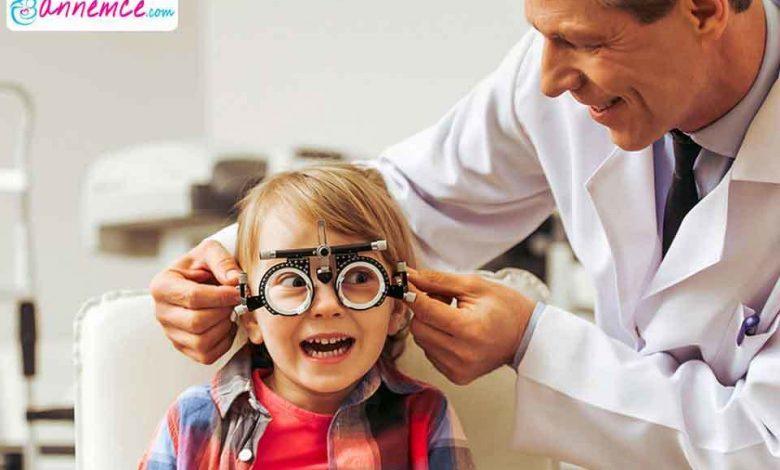 Çocuklarda Göz Bozukluğu Nasıl Anlaşılır?