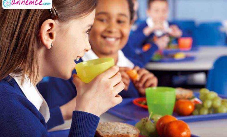 Okul Çağındaki Çocuğun Beslenmesi Nasıl Olmalıdır?