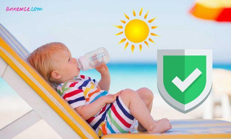 Bebekleri Güneşten Nasıl Koruruz?