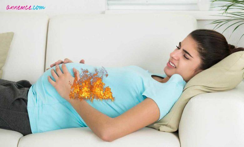 Hamilelerde Mide Yanmasına Ne İyi Gelir?